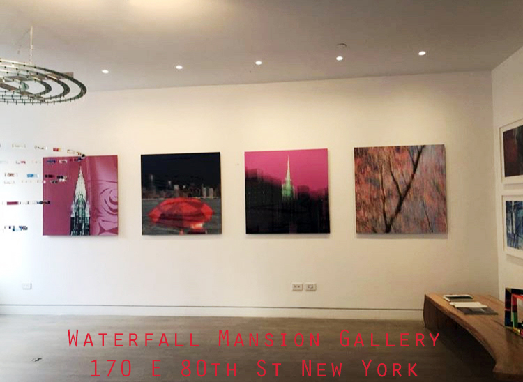 """Impressions of New York"" Now on show at the Waterfall Mansion Gallery New York 170 E 80th St New York-image"